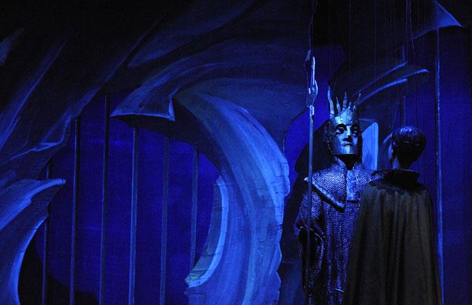 Zauberflöte, salzburger Marionettentheater, Regie Thomas Reichert