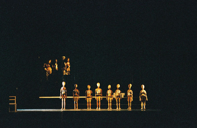 Bastien und Bastienne, Salzburger Marionettentheater, Regie Thomas Reichert