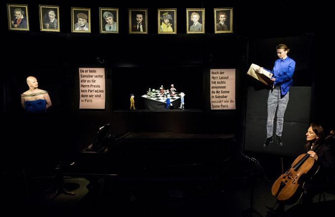 Die Brüste des Tiresias, Kabinetttheater, Thomas Reichert
